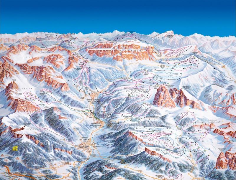 rodzinny wyjazd na narty alpe di siusi