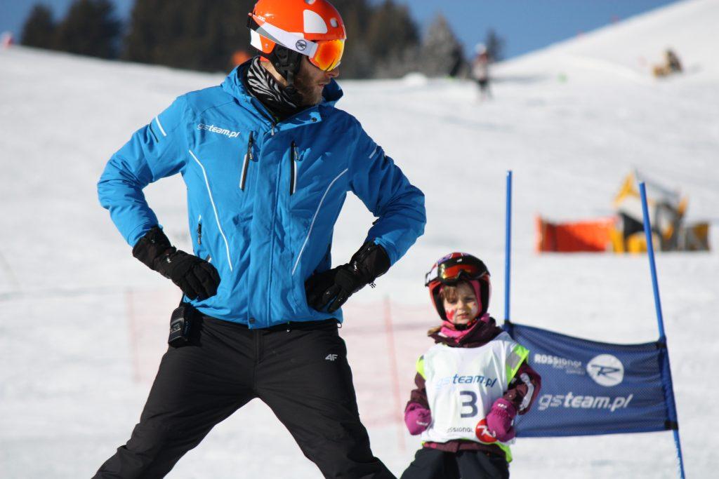 Szkółka narciarska dla dzieci Austria