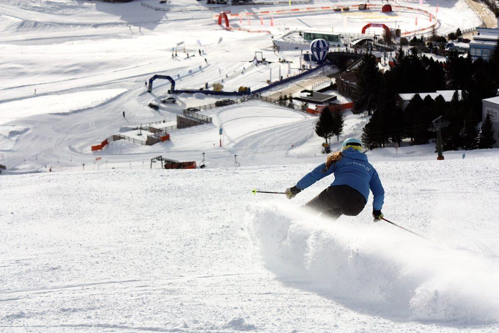 polska szkolka narciarska nauka jazdy na nartach Alpy