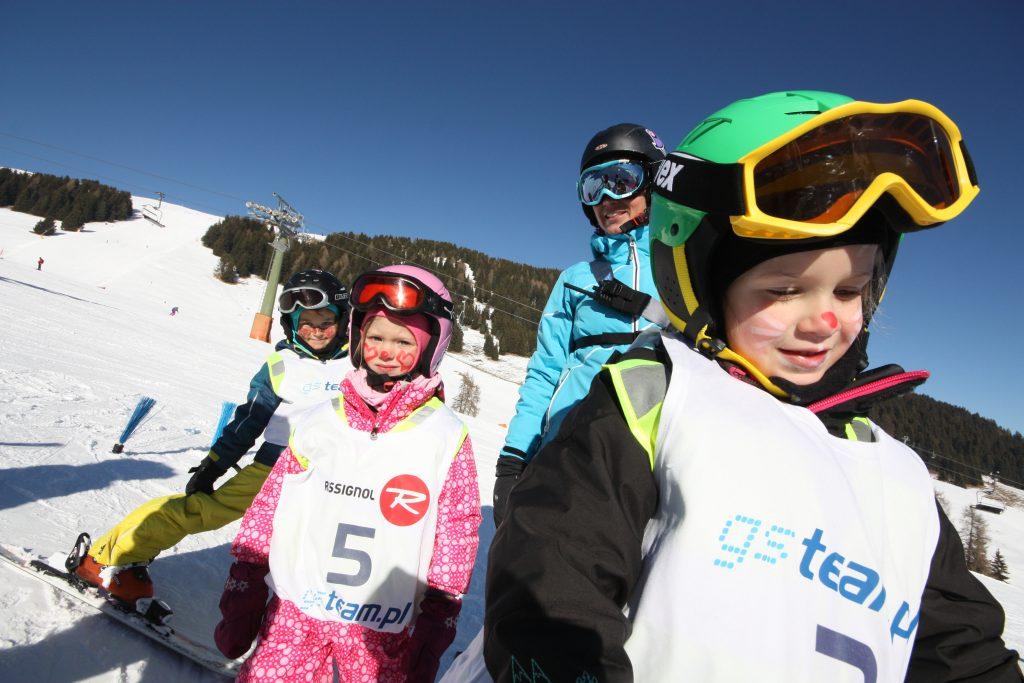 Polska szkółka narciarska Carezza przedszkole narciarskie
