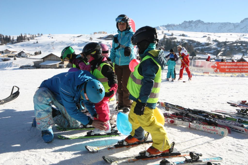 narty z dziećmi przedszkole narciarskie
