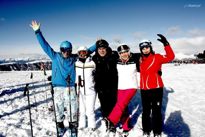 szkolenia narciarskie dla dorosłych GSTEAMPL