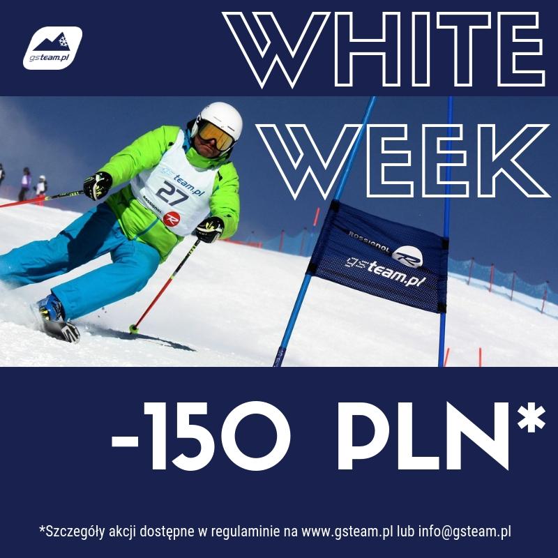 White week 2018 zniżka na szkolenie narciarskie
