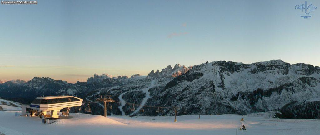 Passo San Pellegrino narty promocja last minute